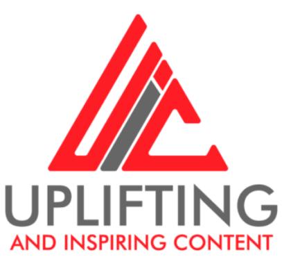 Uplifting & Inspiring Content Logo